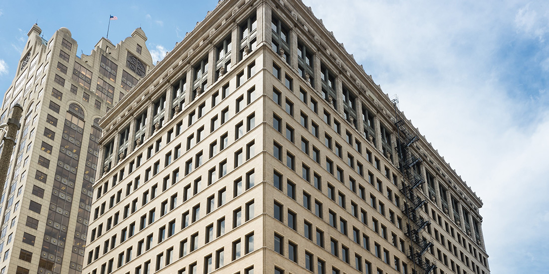 CityCenter@735 is One of Several Masterpieces designed by Renowned Architect Daniel Burnham.